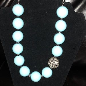 Baby Blue Necklace! NWT